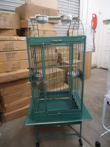Medium Parrot Cage - Green Color
