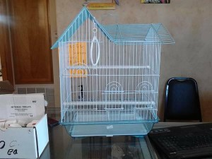 house shaped cage