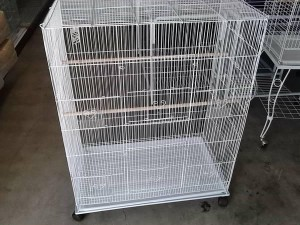 rectangular bird cage